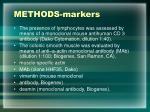 methods markers11