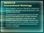 results conventional histology