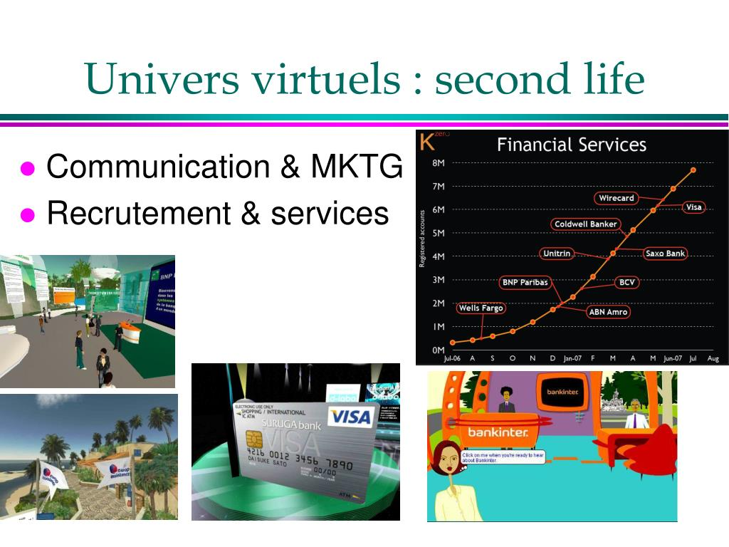 Univers virtuels : second life