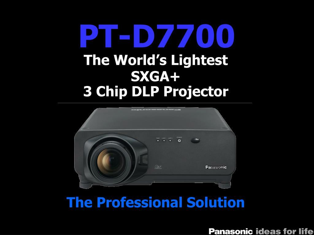 PT-D7700