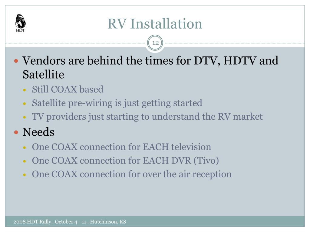 RV Installation