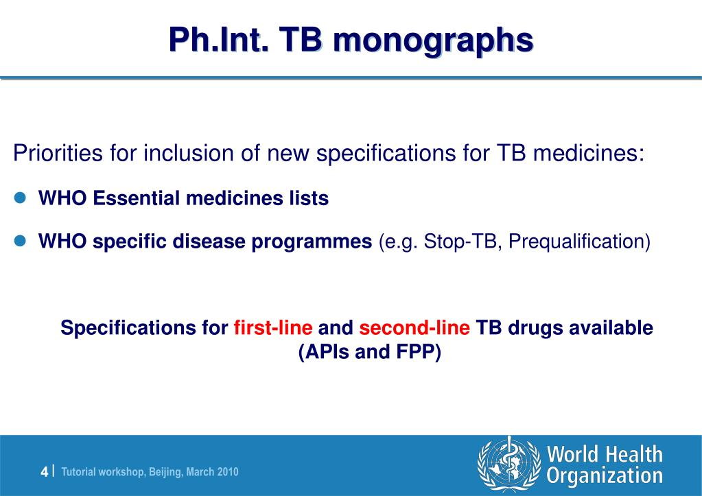Ph.Int. TB monographs