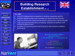 building research establishment 1