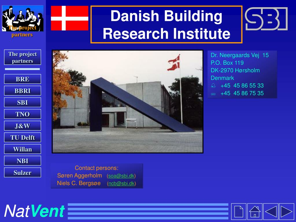 Danish Building Research Institute