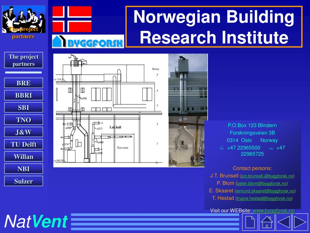 Norwegian Building Research Institute