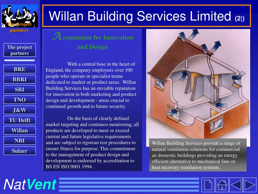 Willan Building Services Limited