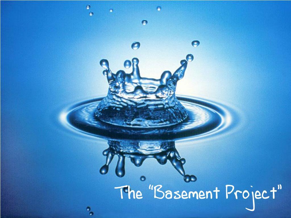 "The ""Basement Project"""