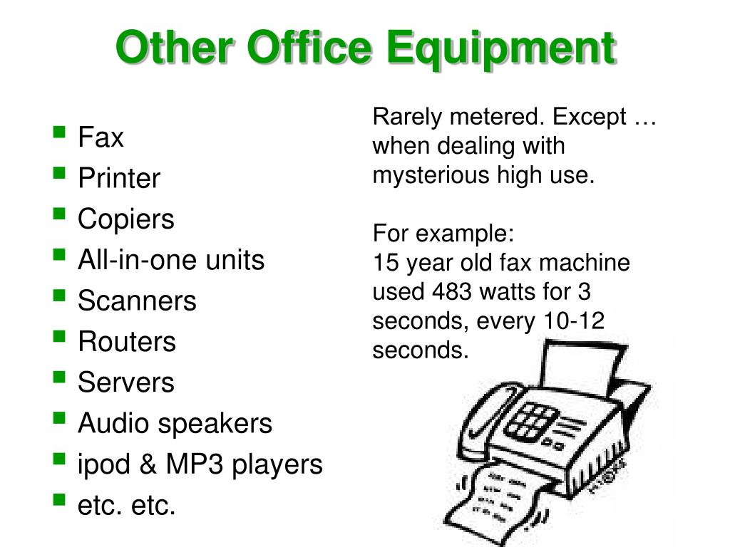 Other Office Equipment