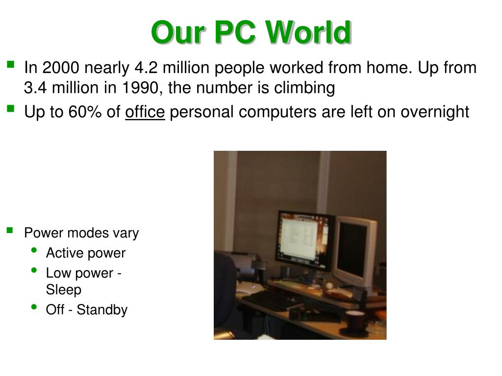 Our PC World