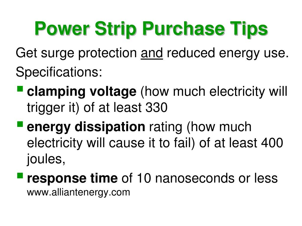 Power Strip Purchase Tips