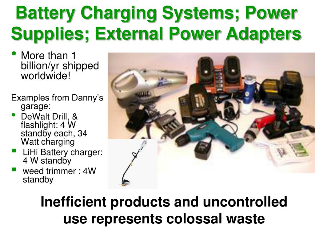 Battery Charging Systems; Power Supplies; External Power Adapters