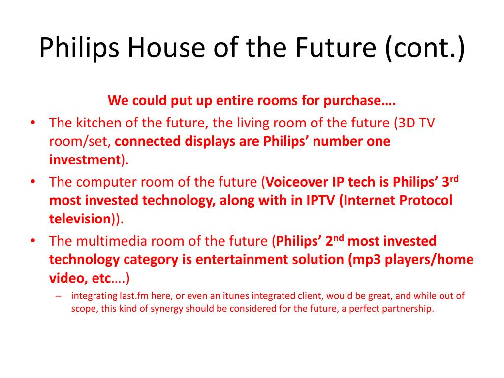 Philips House of the Future (cont.)