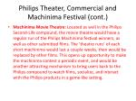 philips theater commercial and machinima festival cont