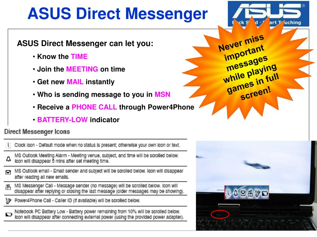 ASUS Direct Messenger