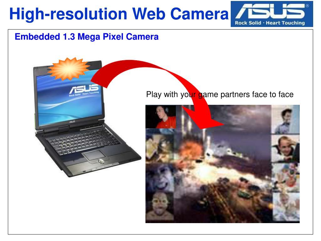 High-resolution Web Camera