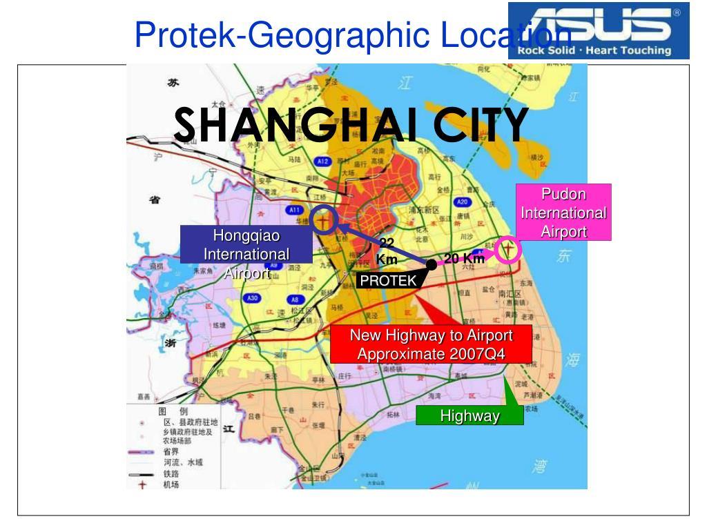 Protek-Geographic Location