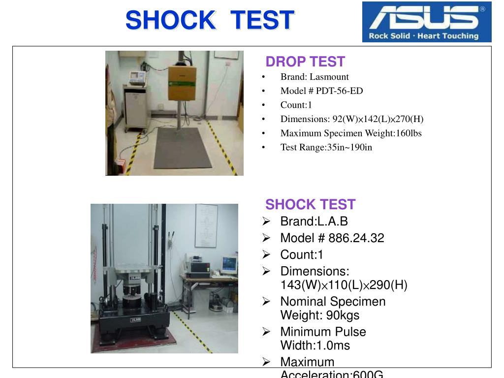 SHOCK  TEST