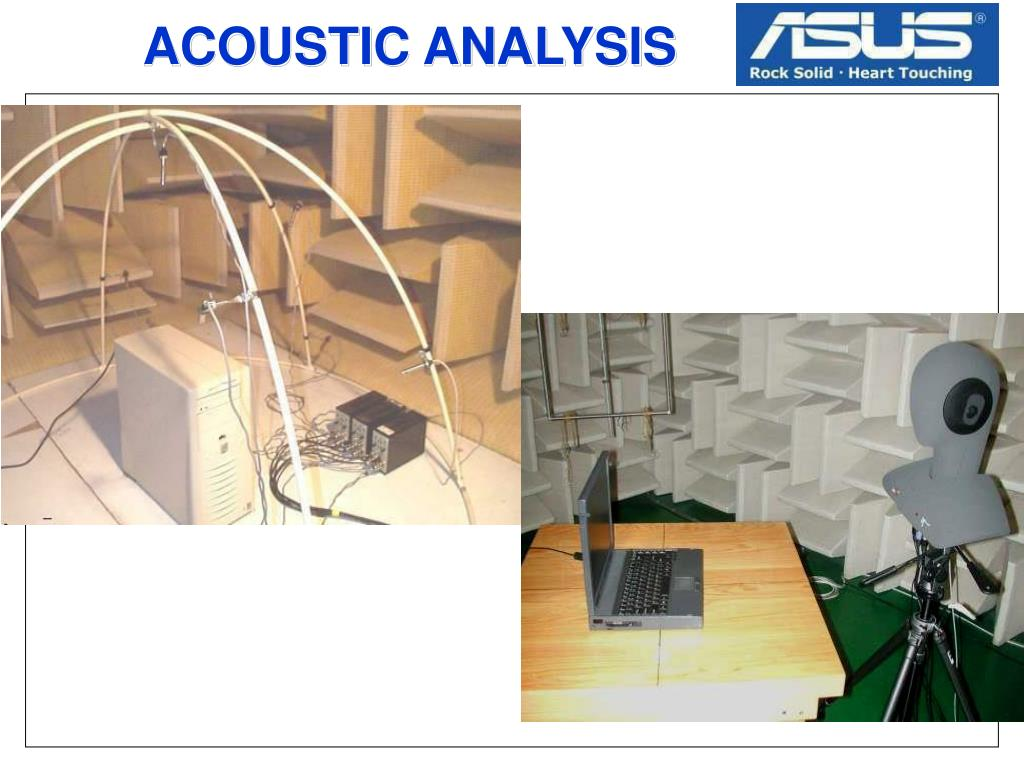 ACOUSTIC ANALYSIS