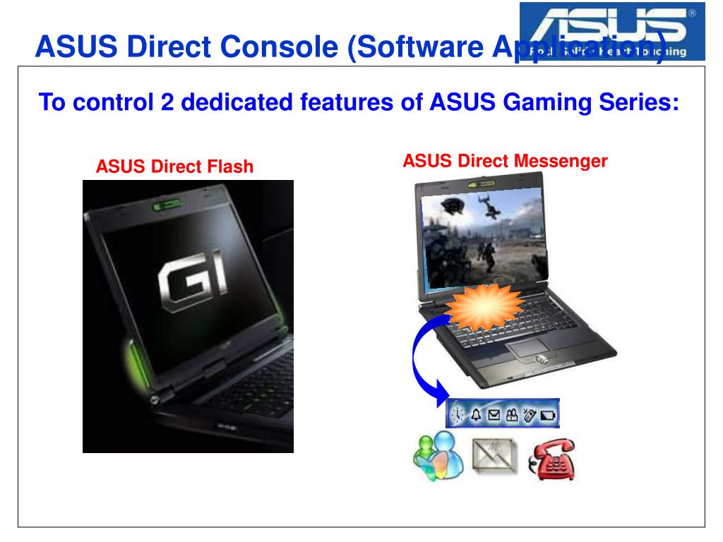 ASUS Direct Console (Software Application