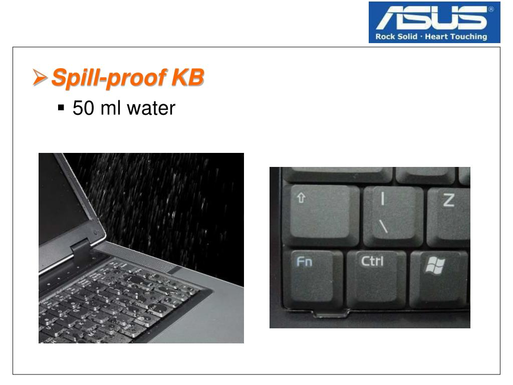 Spill-proof KB