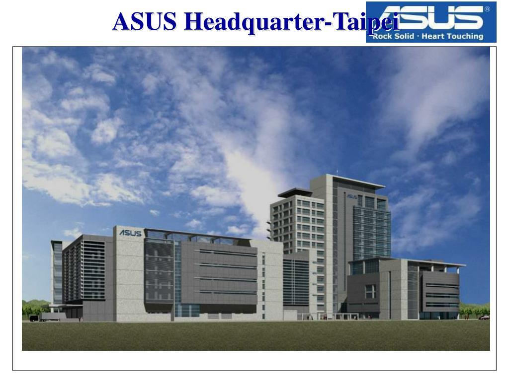 ASUS Headquarter-Taipei