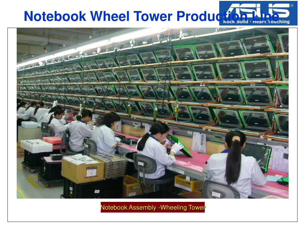 Notebook Wheel Tower Production Line