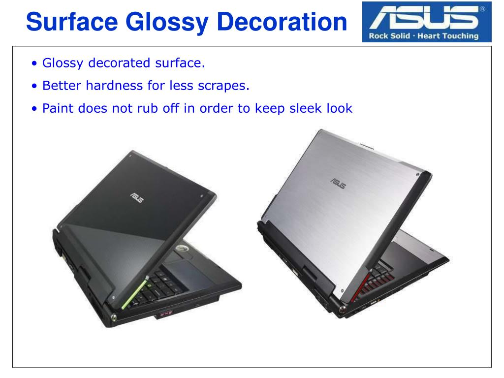 Surface Glossy Decoration