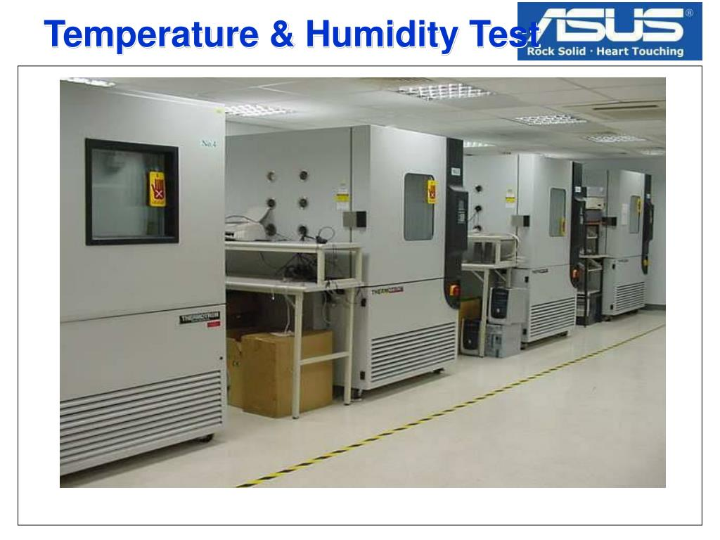 Temperature & Humidity Test