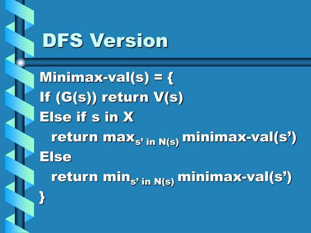 DFS Version