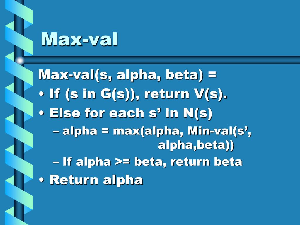 Max-val