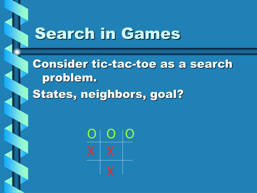 Search in Games
