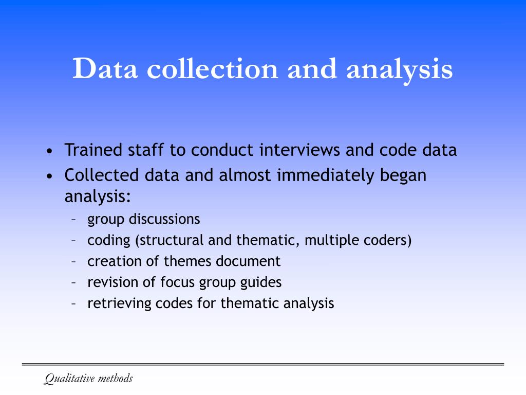 collecting and analysing data assignment Create assignment data analysis for advanced science projects data analysis occurs only after you are done collecting all your data data analysis is quick.