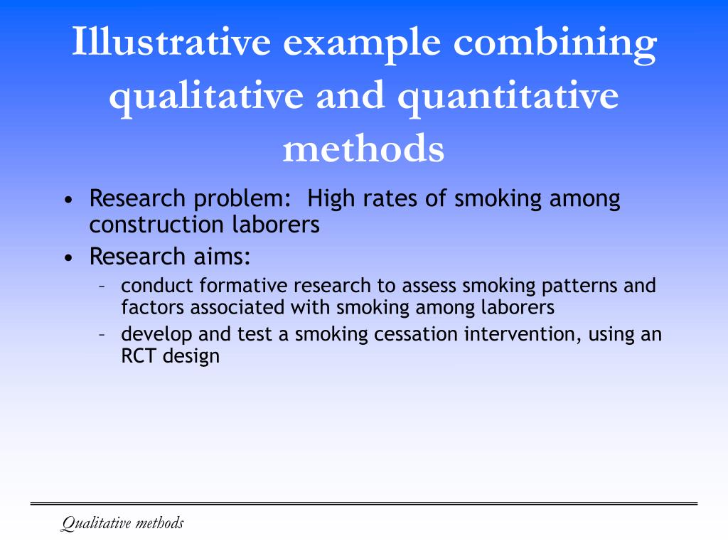 qualitative methodology in research paper Rwt1 research paper research methods for strategic managers compare and contrast the qualitative and quantitative research methods computer programming research paper taking a look at the research process marketing research on reynolds pen strengths and weakness of the qualitative research method quantitative methods.