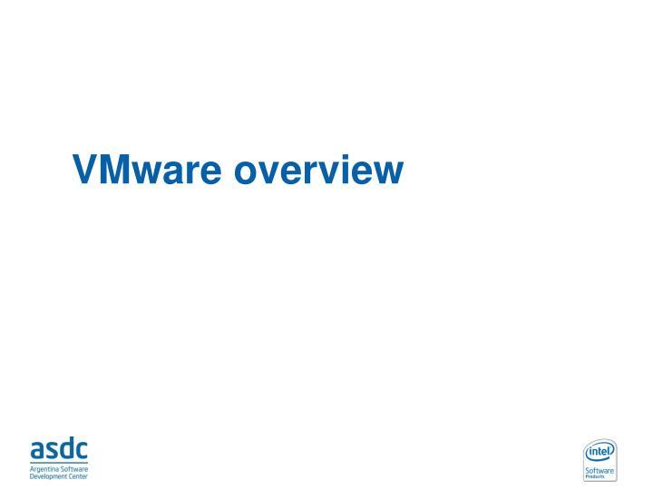 VMware overview