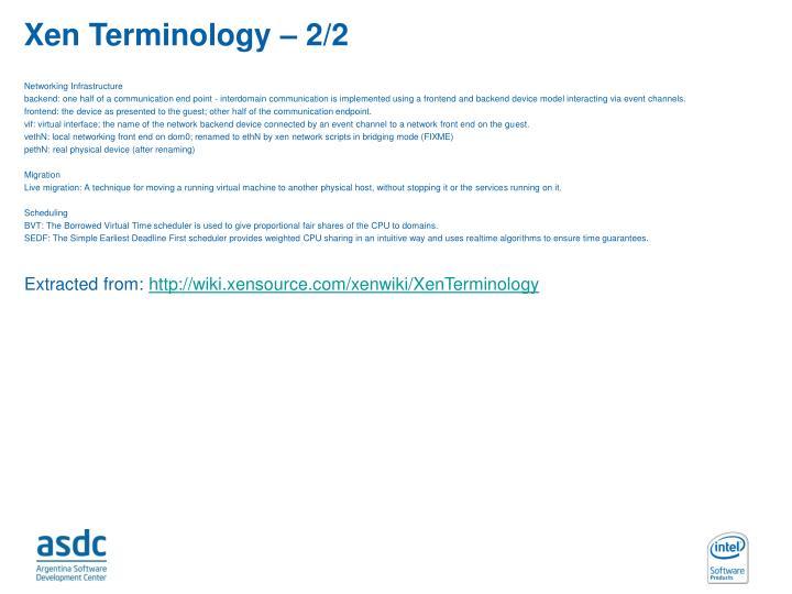 Xen Terminology – 2/2