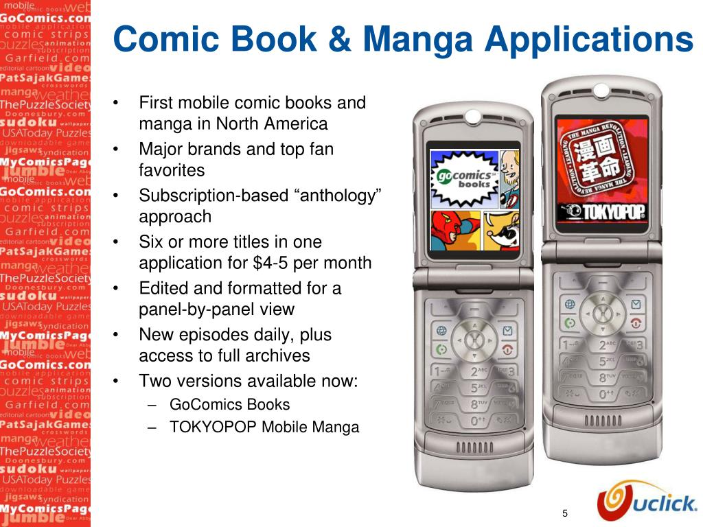 Comic Book & Manga Applications