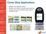 comic strip applications