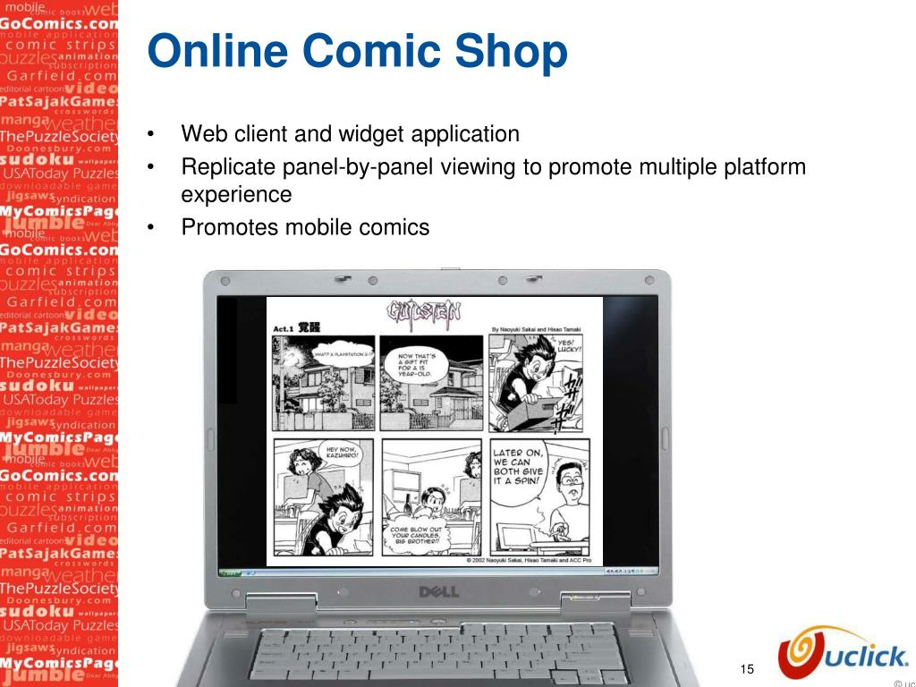 Online Comic Shop