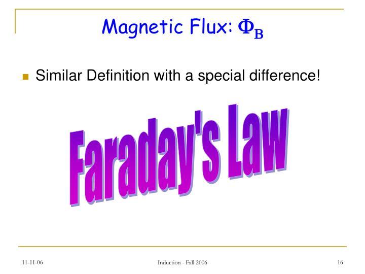 Magnetic Flux: