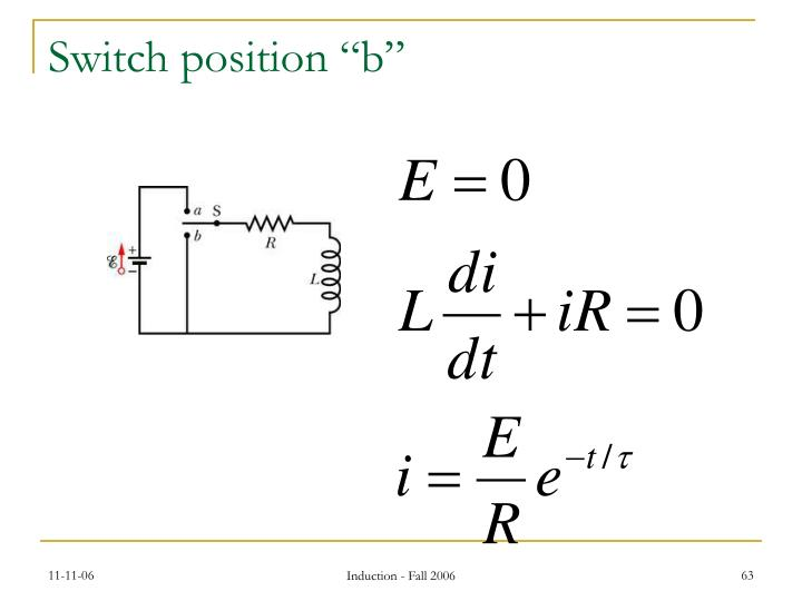 "Switch position ""b"""