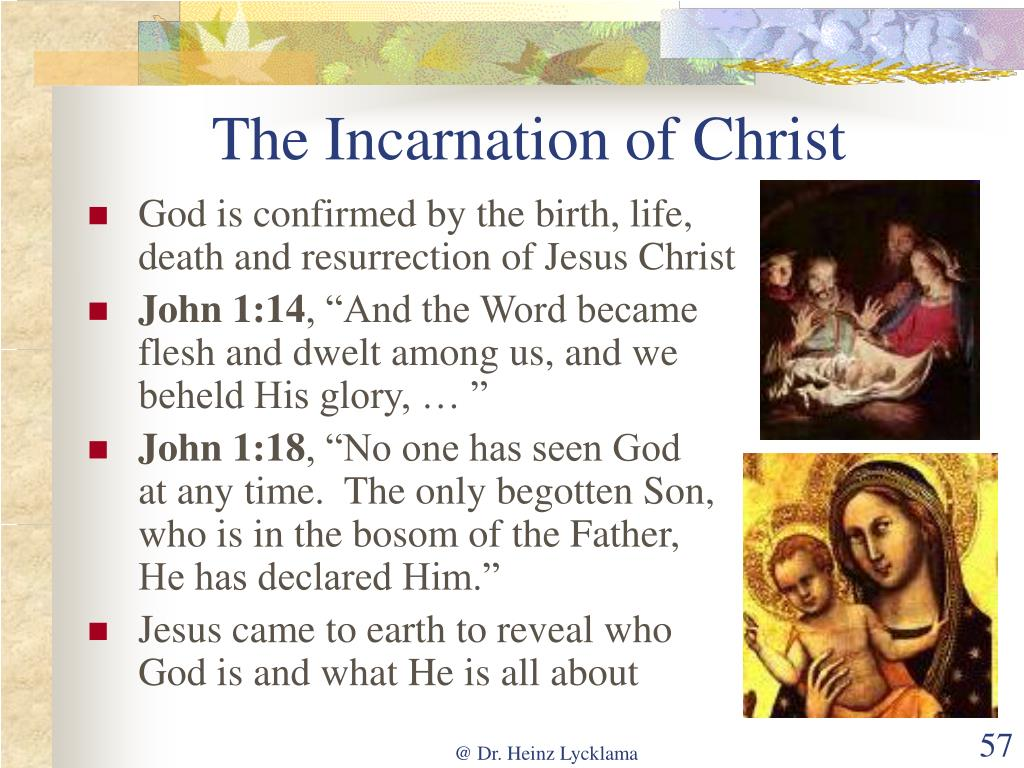 The Incarnation of Christ