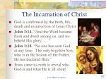 the incarnation of christ
