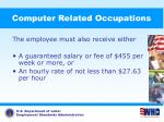 computer related occupations68