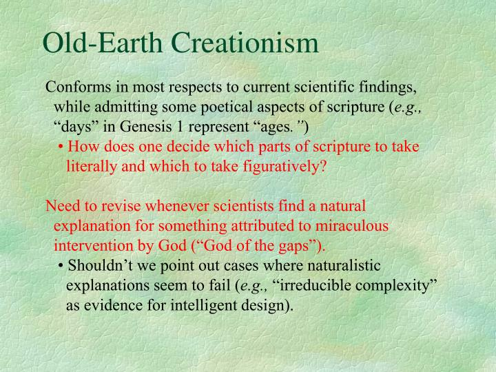 Old earth creationism