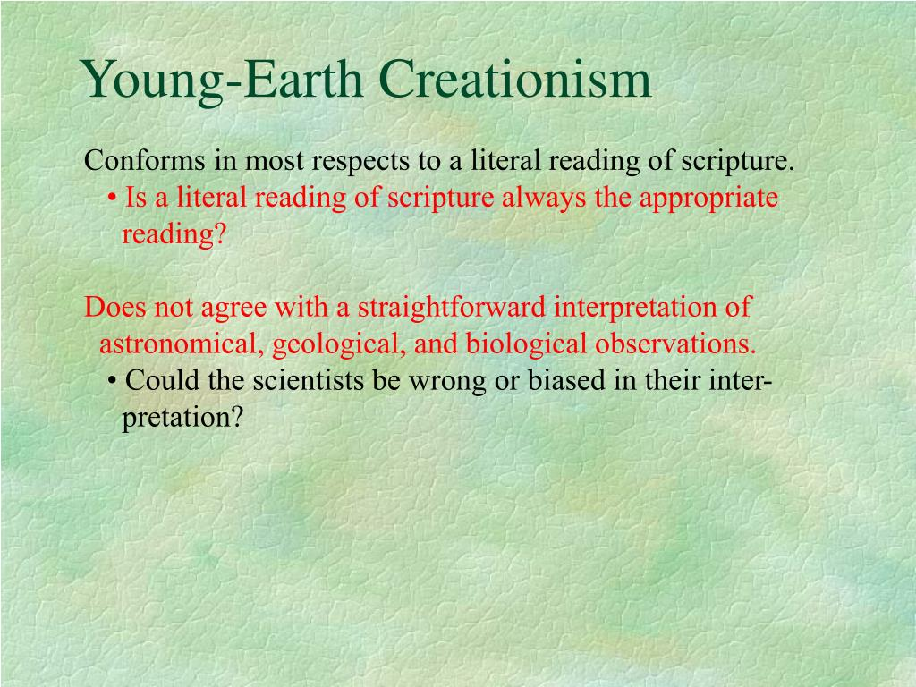 Young-Earth Creationism