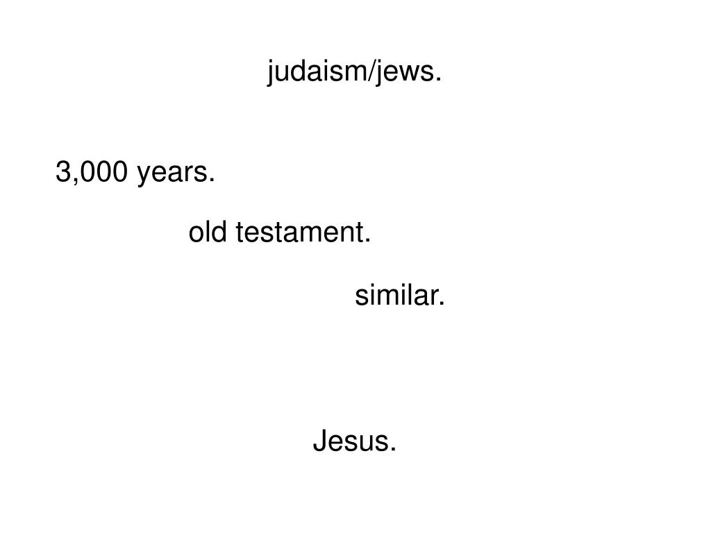 judaism/jews.