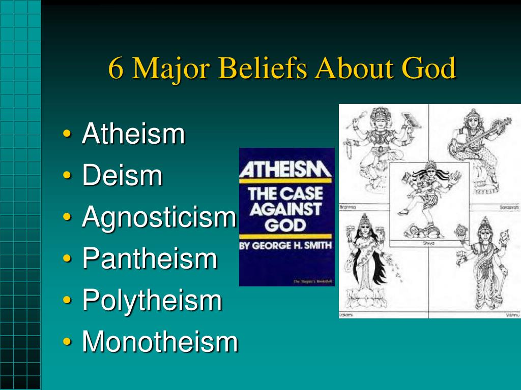 6 Major Beliefs About God