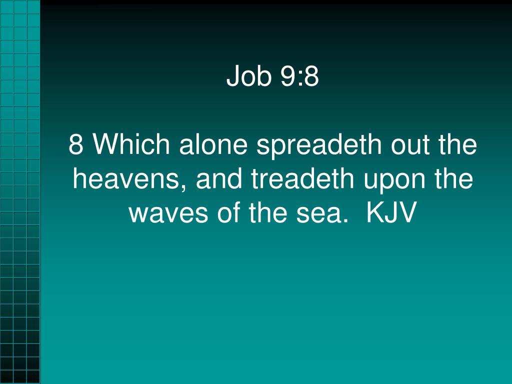 Job 9:8