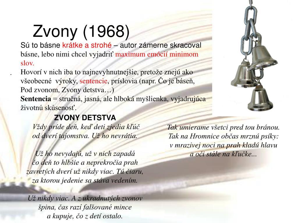 Zvony (1968)