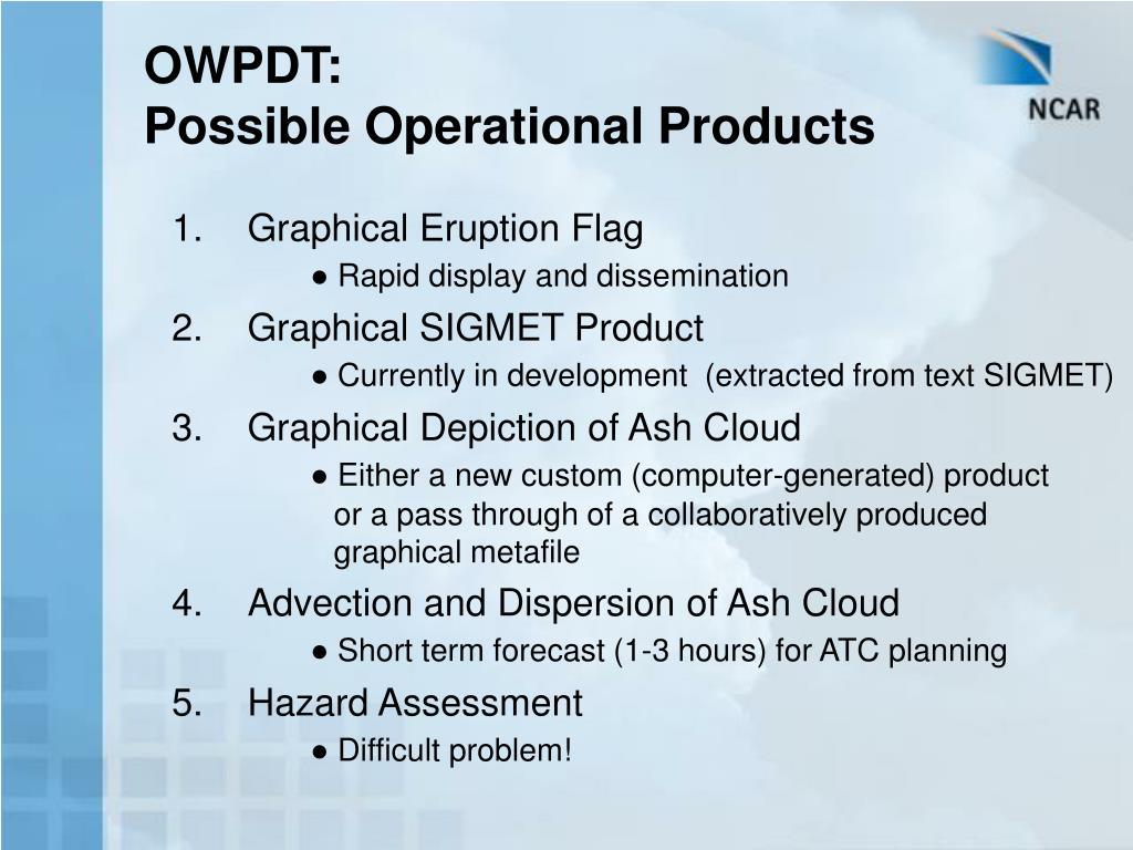 OWPDT: